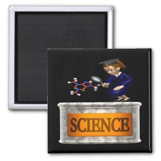 Ciencia 2 imán de nevera