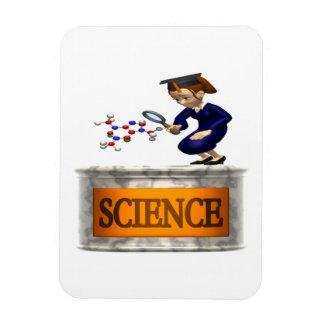 Ciencia 2 imán de vinilo