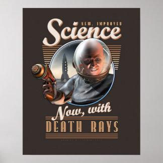 CIENCIA ¡Ahora con los rayos de muerte poster