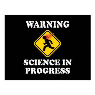 Ciencia amonestadora en curso postal