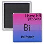Ciencia bisexual imán para frigorífico