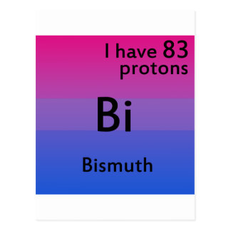 Ciencia bisexual tarjetas postales