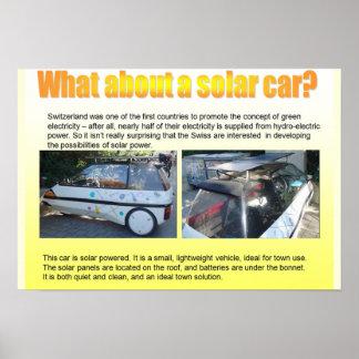 Ciencia, coche solar impresiones