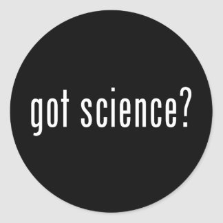 ¿ciencia conseguida pegatinas