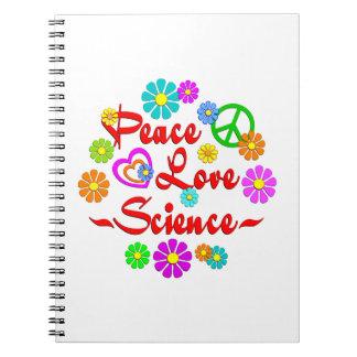 Ciencia del amor de la paz libros de apuntes