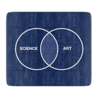 Ciencia/diagrama de Venn del arte Tabla Para Cortar