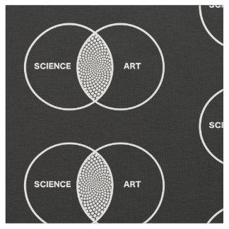 Ciencia/diagrama de Venn del arte Telas
