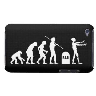 Ciencia divertida de la carta evolutiva de la evol barely there iPod funda