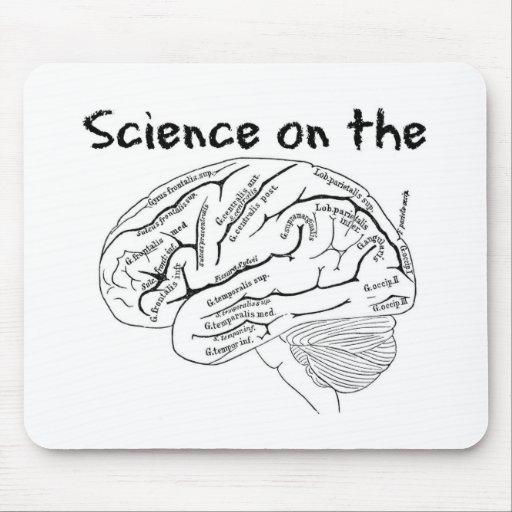 Ciencia en el cerebro tapete de raton