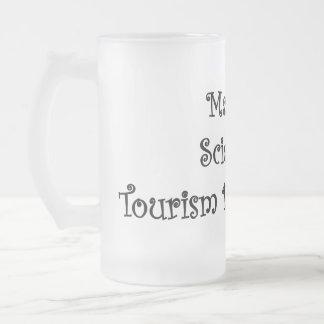 Ciencia en el desarrollo de turismo taza cristal mate