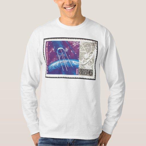 Ciencia espacial rusa de Sputnik 1 15 años Camisas