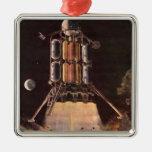 Ciencia ficción del vintage Rocket que arruina del Adornos