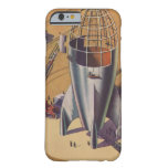 Ciencia ficción del vintage, Sci Fi, construyendo Funda De iPhone 6 Barely There