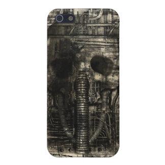 Ciencia ficción industrial i de la muerte del KRW iPhone 5 Fundas