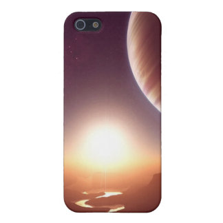 Ciencia ficción iPhone 5 carcasas
