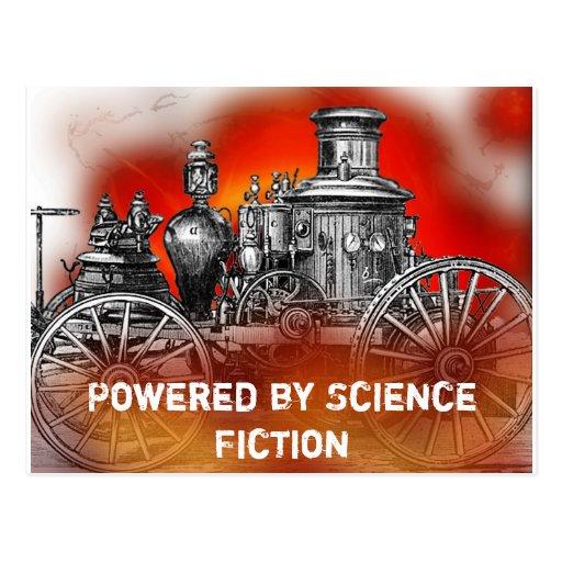 Ciencia ficción tarjetas postales
