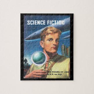 Ciencia Fiction_ arte asombroso del _Pulp de abril Puzzles