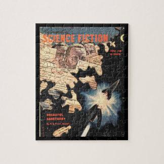 Ciencia Fiction_ arte asombroso del _Pulp de junio Puzzles