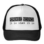 Ciencia forense es gorras