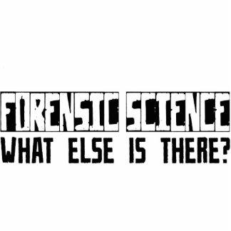 ¿Ciencia forense qué más está allí? Escultura Fotográfica
