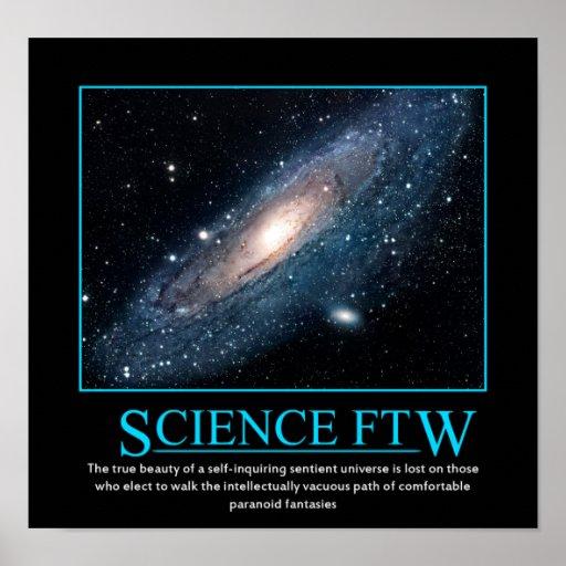 Ciencia FTW Póster