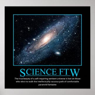 Ciencia FTW Posters