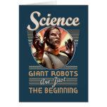 Ciencia: Los robots gigantes son apenas el princip Tarjetón