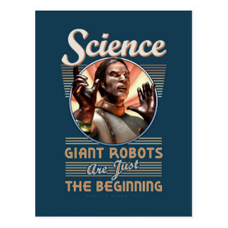 Ciencia: Los robots gigantes son apenas el princip Tarjetas Postales