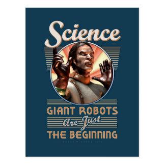 Ciencia: Los robots gigantes son apenas el Postal