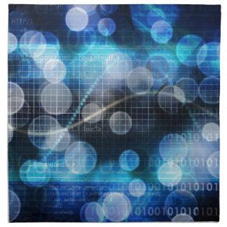 Ciencia médica de la DNA Servilletas Imprimidas