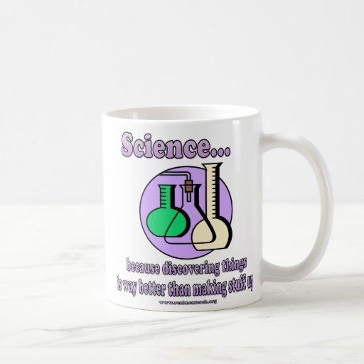 Ciencia - mejore que haciendo la materia para arri taza de café