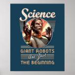 """CIENCIA: Poster gigante de los robots (16x20"""")"""