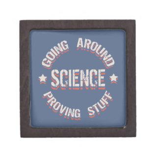Ciencia que prueba la materia