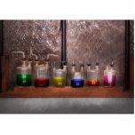 Ciencia - químico - cristalería para los pares escultura fotografica