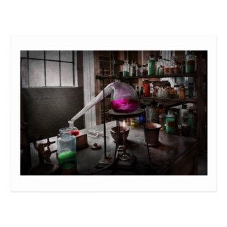 Ciencia - químico - química para la medicina postales