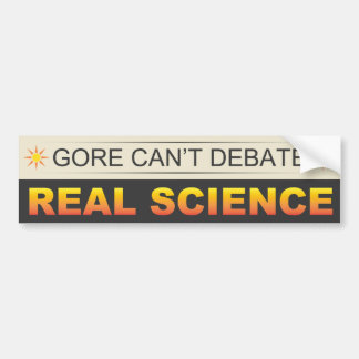 Ciencia real pegatina para auto