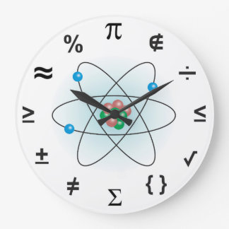 Ciencia Reloj Redondo Grande