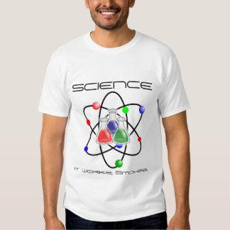 Ciencia trabaja el regalo justo del amor de la poleras