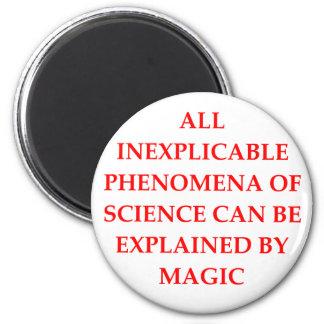 CIENCIA y magia Iman De Frigorífico