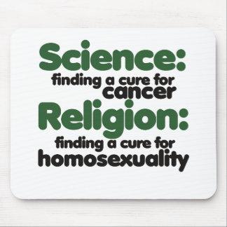 Ciencia y religión tapete de ratones