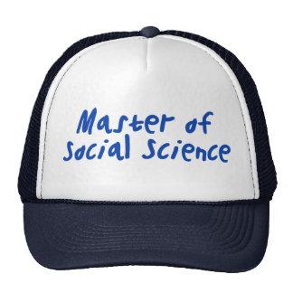 Ciencias sociales gorro de camionero