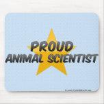 Científico animal orgulloso tapete de ratón