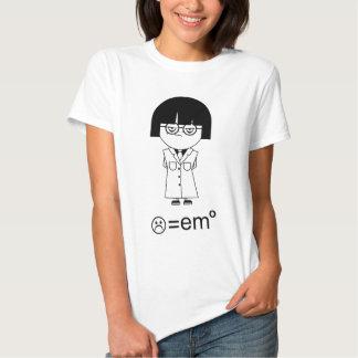 Científico de Emo - Sadface = emo Playera