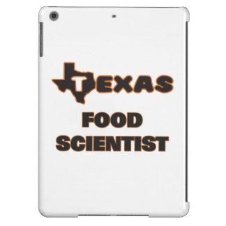 Científico de la comida de Tejas Funda Para iPad Air
