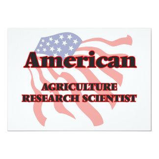 """Científico de la investigación de la agricultura invitación 5"""" x 7"""""""