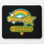 Científico de la superestrella mouse pads