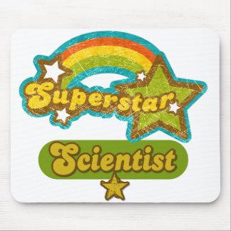 Científico de la superestrella tapete de ratón