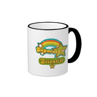 Científico de la superestrella taza de café