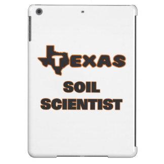 Científico del suelo de Tejas Funda Para iPad Air