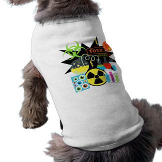 Científico enojado camiseta de mascota
